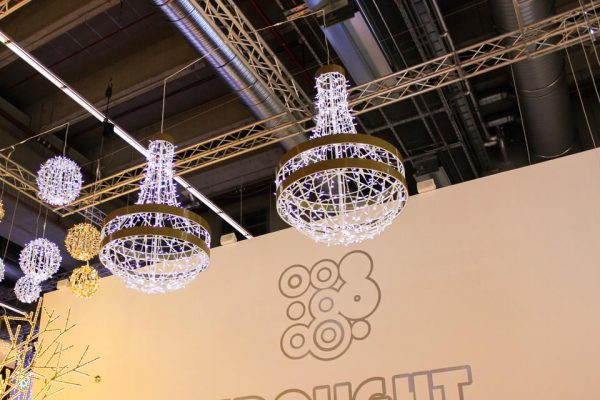 A brand new classical looking Chandelier with gold finishes.