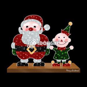 Santa and Elf 200